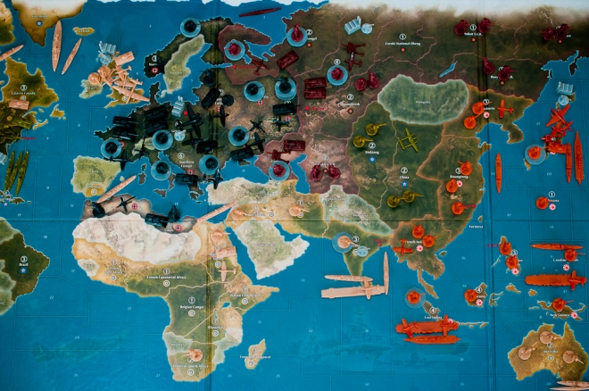 Axis & Allies Spring 1942 Setup