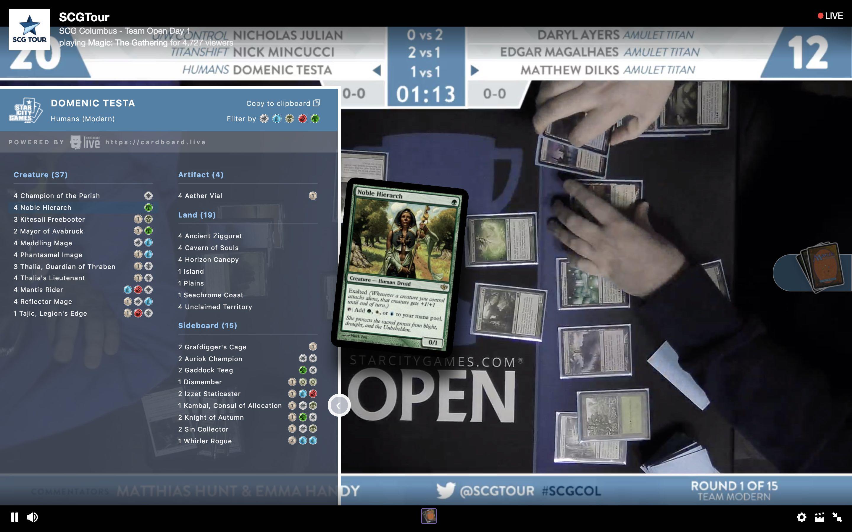 CardBoard Live updates – January 2019 – CardBoard Live